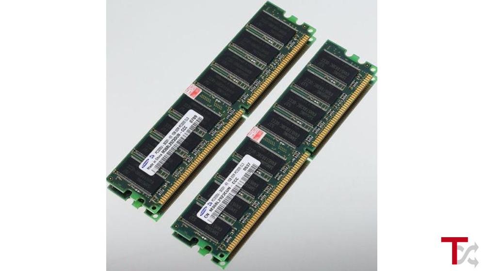 Memorias RAM 1 Gb DDR 400 PC3200