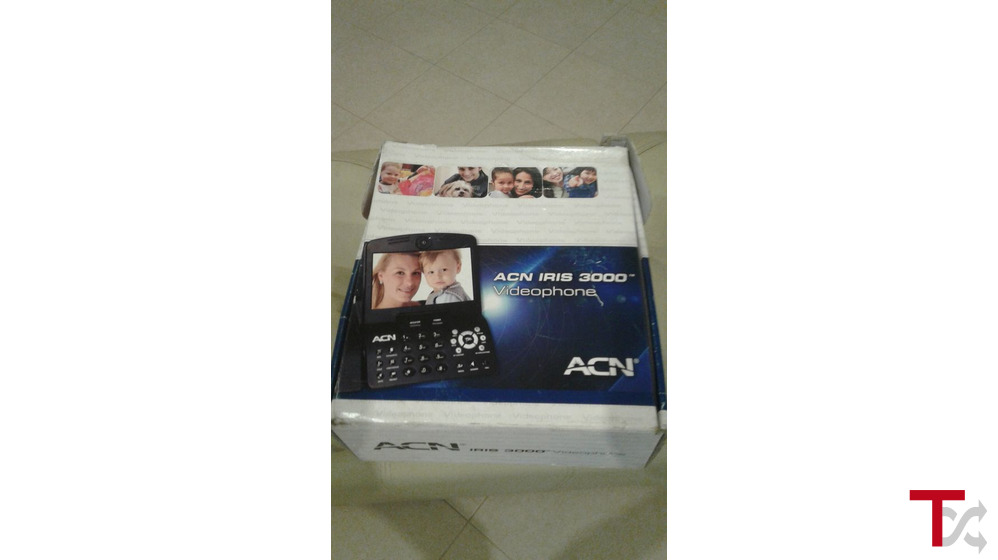 Telefone Fixo videochamada ACN IRIS 3000 Semi-novo