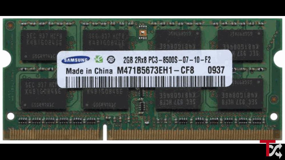 SO-DIMM DDR3 2GB 1066MHZ / PC3-8500