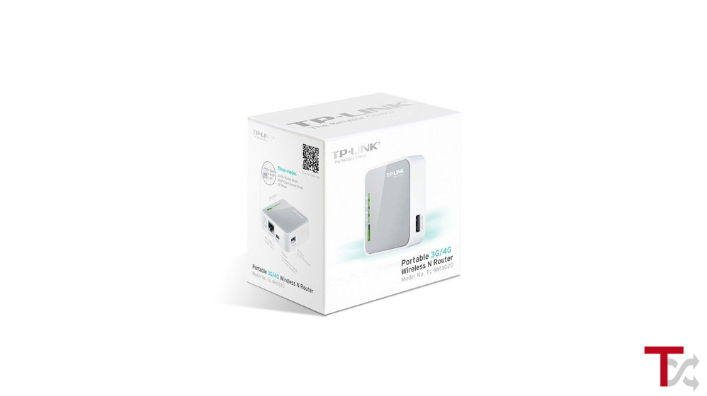 Router TP-Link Portable Wireless AC750