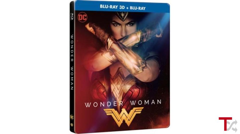 Mulher-Maravilha - Edição Steelbook (Blu-ray 3D + 2D)