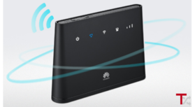 Router Huawei B310s-22,4G( cartão SIM da NOS).