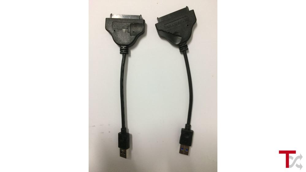 Cabo USB 3.0 para discos SATA 2.5