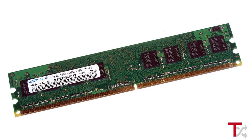 DIMM DDR2 1GB 800MHZ / PC2-6400