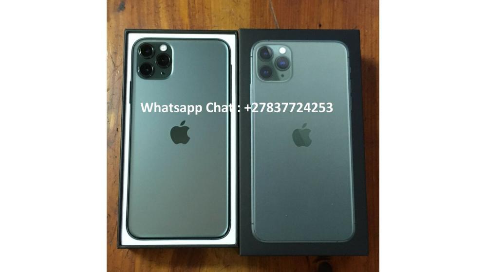 Apple iPhone 11 Pro  64GB = $600, iPhone 11 Pro Max  64GB = $650, iPhone 11  64GB =  $470