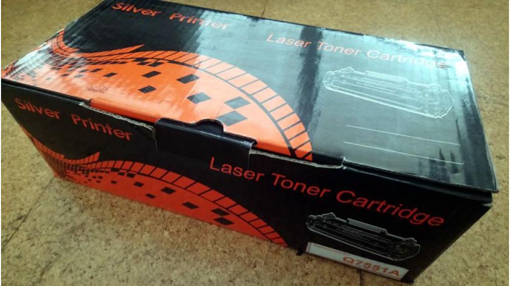 Toner impressora HP Q7551A selado