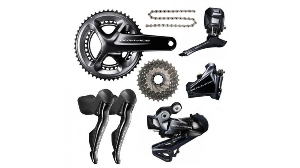 Shimano Dura Ace R9170 Disc Di2 11 Speed Groupset Builder - Fastracycles