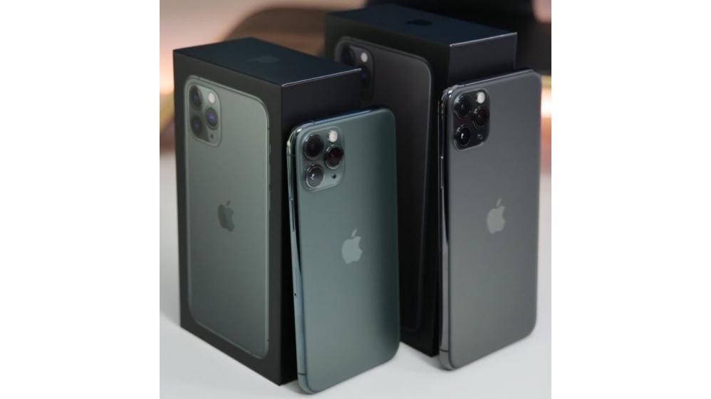 Apple iPhone 11 Pro 64GB = $500, iPhone 11 Pro Max 64GB = $550,iPhone 11 64GB = $450