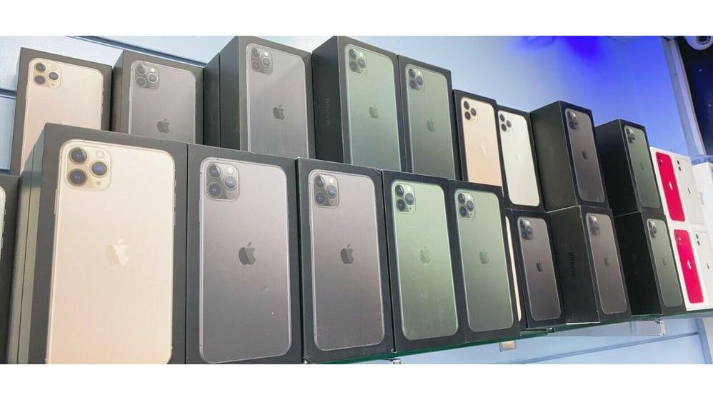 Oferta para Apple iPhone 11, 11 Pro, 11 Pro Max e SE 2020 para vendas.