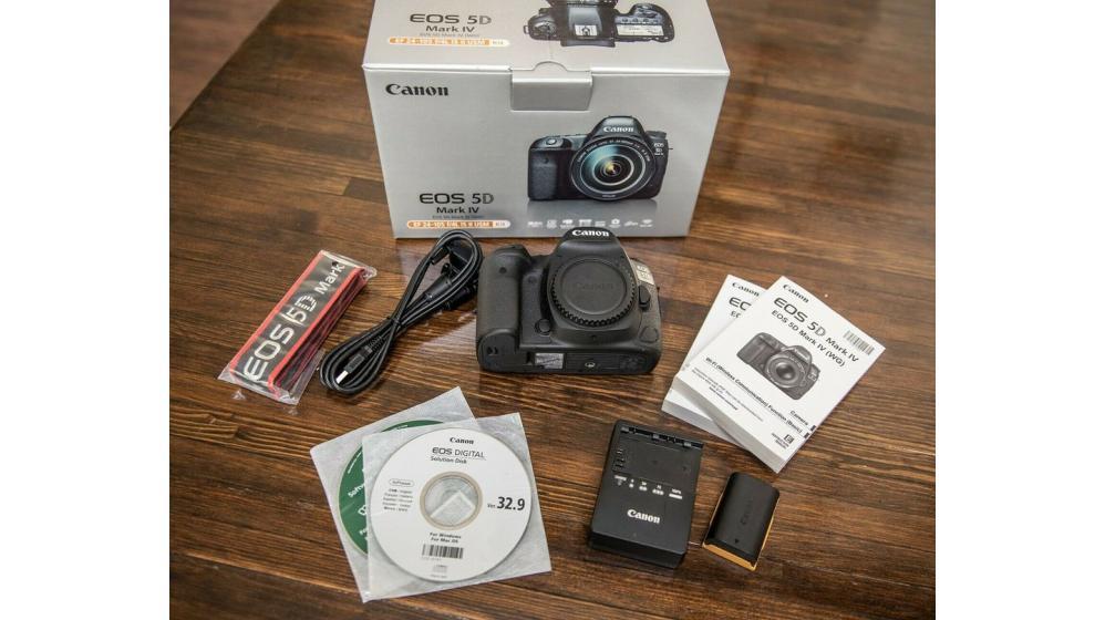 Canon EOS 5D Mark IV DSLR Camera Body = $1200USD