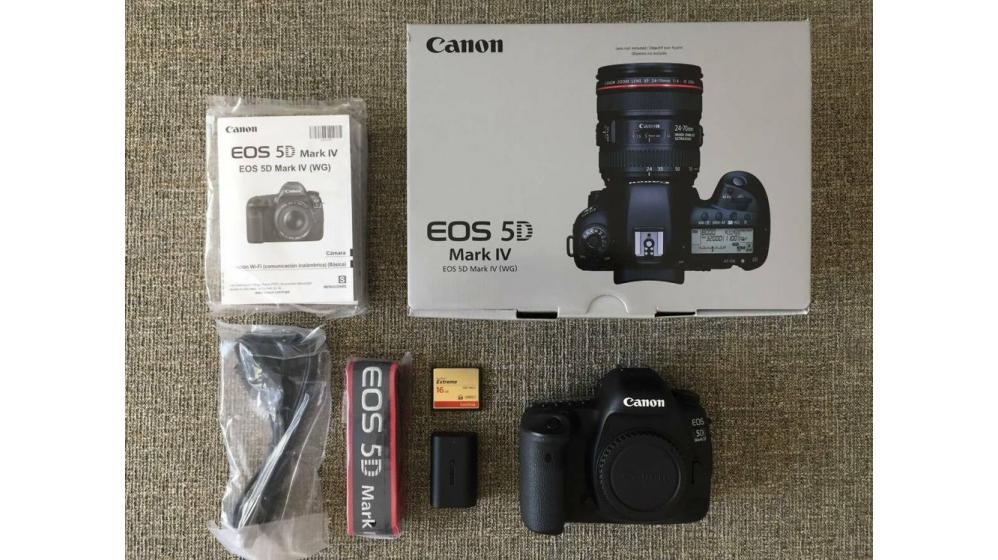 Canon EOS 5D Mark IV DSLR Camera por$1200USD