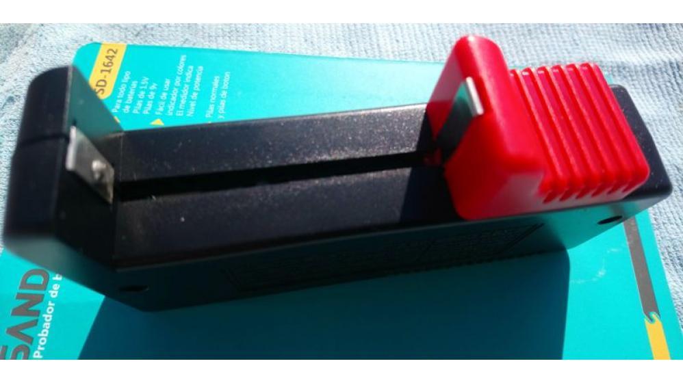 Medidor testador de carga pilhas