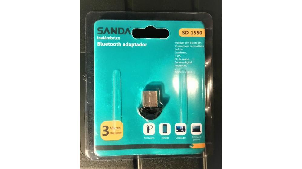 Adaptador bluetooth dongle USB wireless