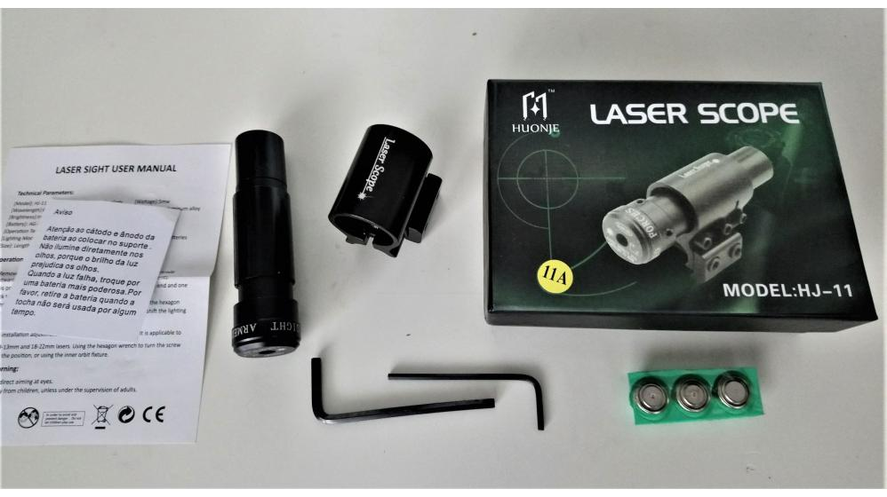 Mira laser telescópica Laser Scope