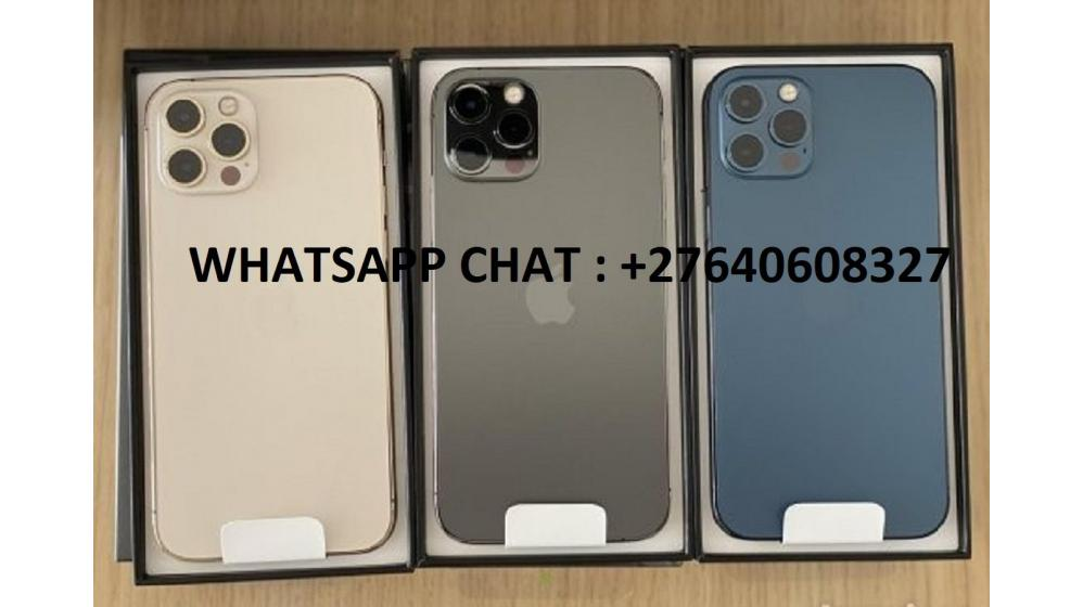 Apple iPhone 12 Pro 128GB = 500euro, iPhone 12 Pro Max 128GB = 550euro, iPhone 12 64GB = 430euro
