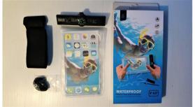 Bolsa telemóvel à prova de água waterproof 5.5 pol