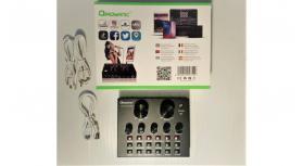 Placa de som música mistura efeitos telemóvel, etc.