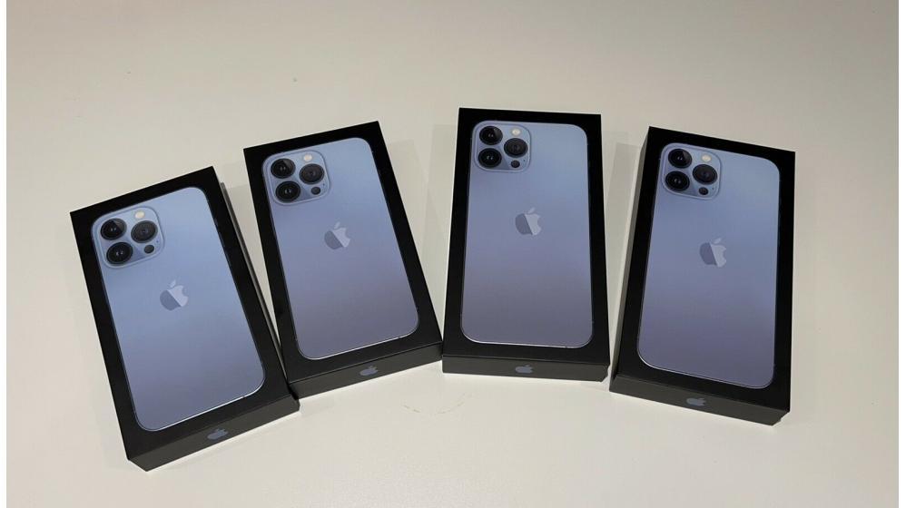 Apple iPhone 13 Pro Max 128GB  $699 Apple iPhone 13 Pro 128GB  $650