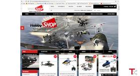Loja de brinquedo de controle remoto, drones, aviões, helicópteros,