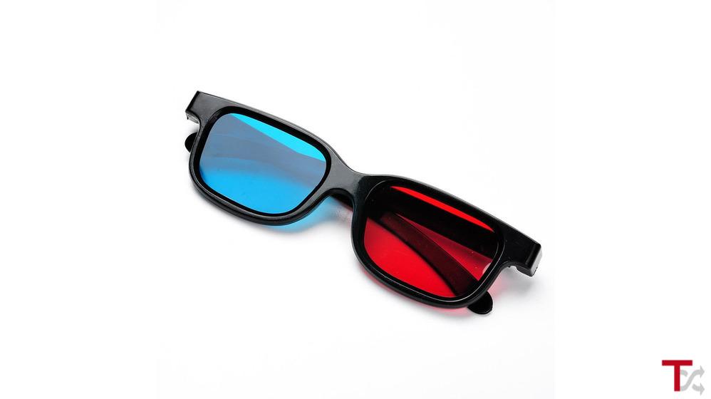 Óculos 3D Vision ( Modelo: Anáglifo )