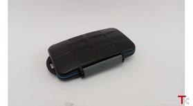 Caixa impermeável robusta para cartões de memória (SD XD CF / 4x / 4x / 4x JJC MC-3 MS PRO