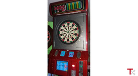 Máquina setas toda completa-original-marca Style Dart com 8 jogadores