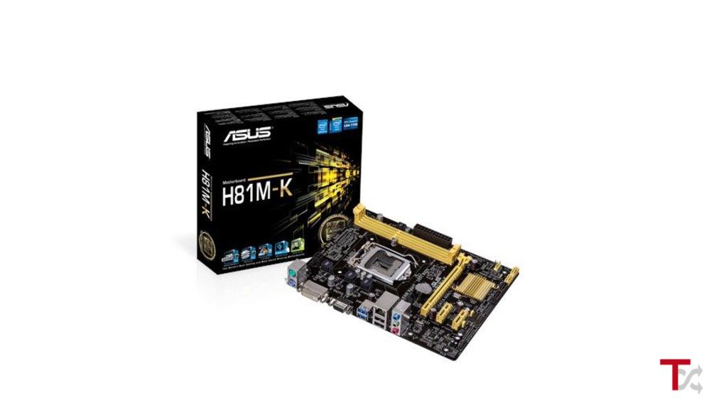 Motherboard Asus H81M-K Socket 1150