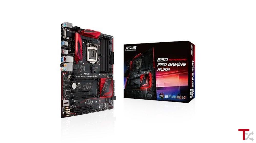 Motherboard ATX Asus B150 Pro Gaming Aura 1151 DDR4
