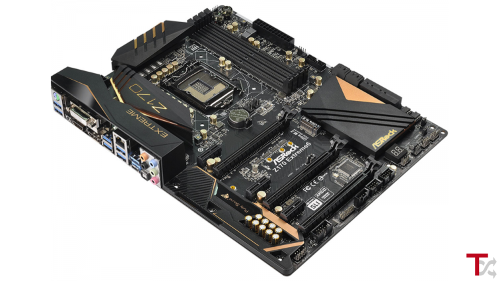 AsRock Z170 Extreme 6+ LGA1151 DDR4 CFX SLI DVI-D HDMI D