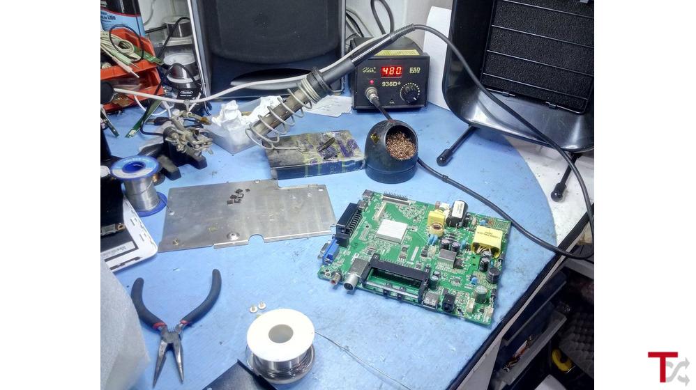 Manutenção de equip. informáticos e eletronicos