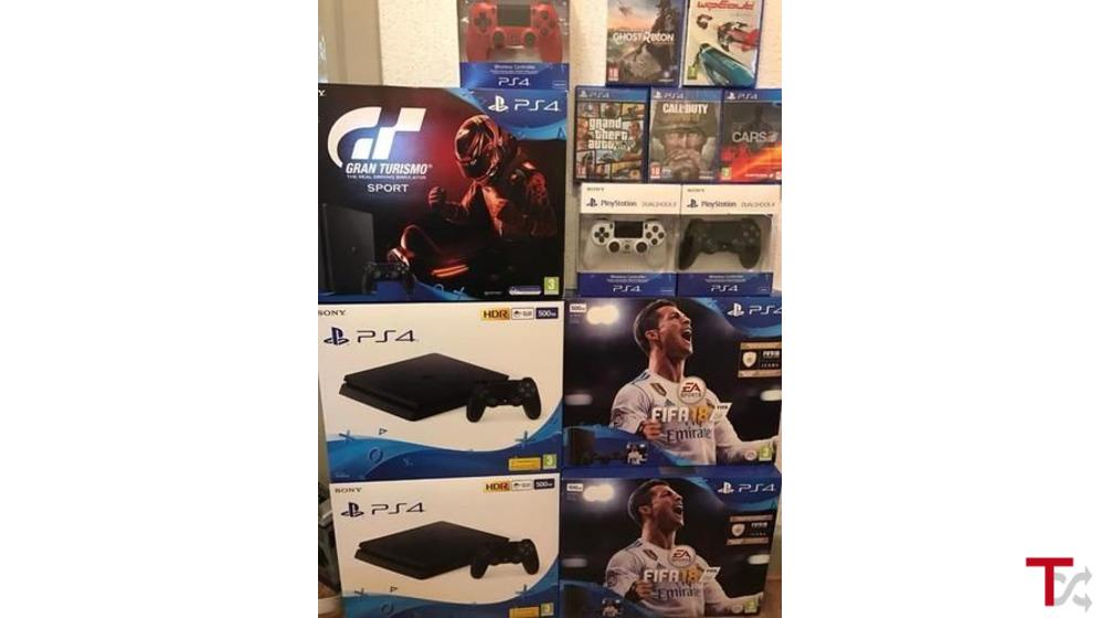 PlayStation 4 Pro 1TB Limited Edition God Of War Bundle: