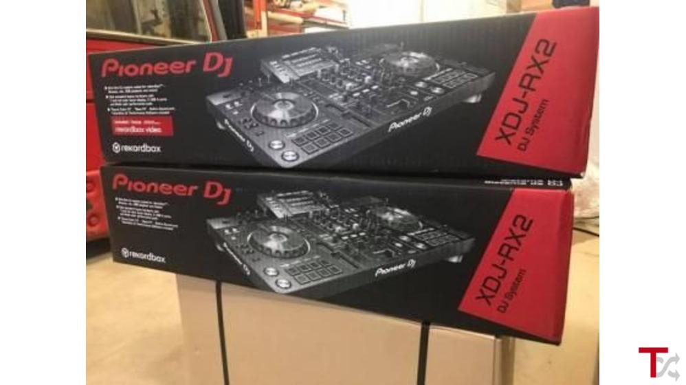 Pioneer DJ XDJ-RX2 Sistema de DJ profesional todo en uno de 2 canales con rekordbox