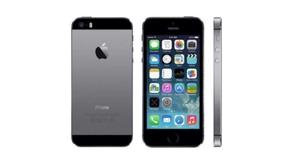 iphone 5s de 16gb preto 130€