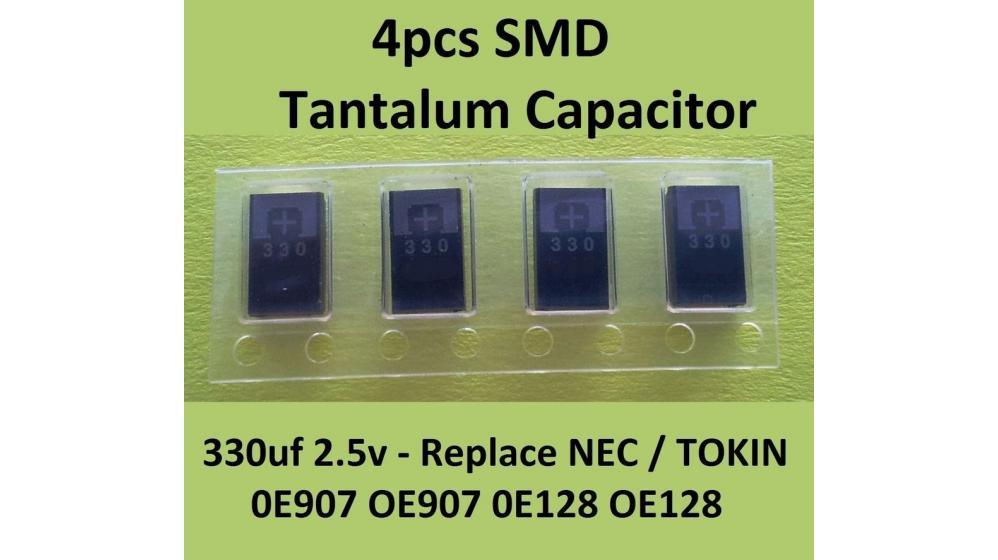 Nec Tokin 4 Capacitor 330uF Toshiba